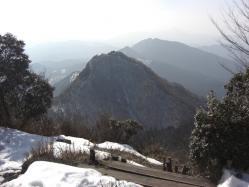 倶留尊山から二本ボソ方面を見る