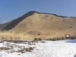 冬の曽爾高原