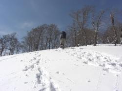 前山 雪が深いです♪