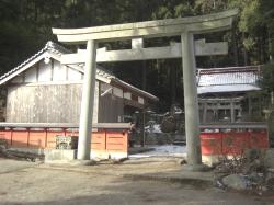 高天彦神社からスタート