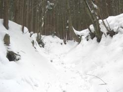 高度があがると積雪も多くなります