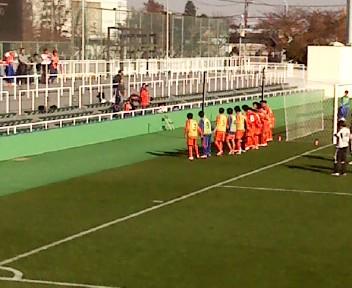 新潟ユース1-0塩釜FC