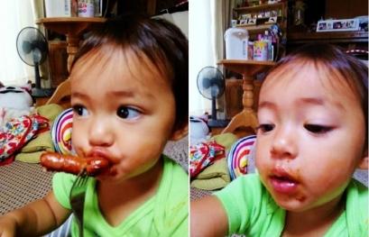 JJ14_9_7 ケチャップウインナー食