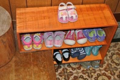 DIY14_10_10 靴箱設置