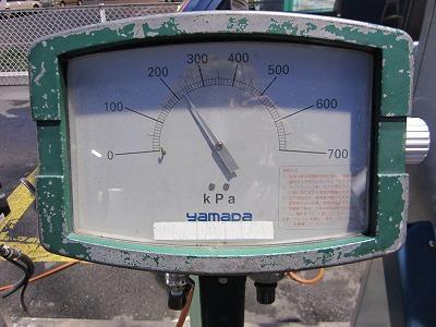 空気圧数値