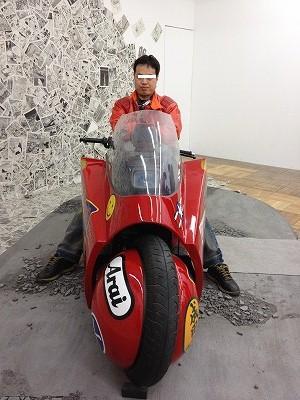 大友克洋GENGA展 金田のバイク
