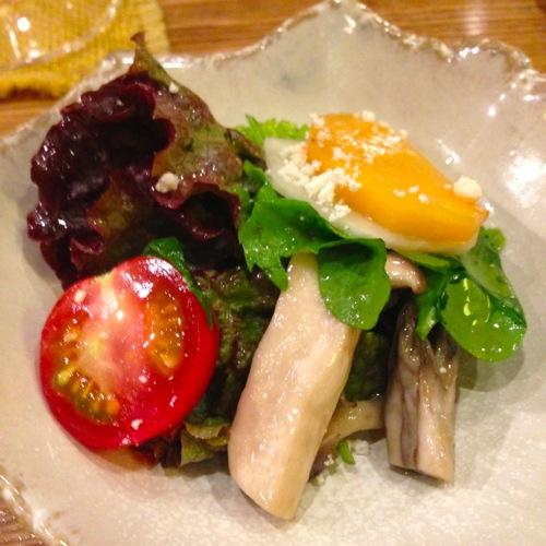 3柿とカブのサラダ