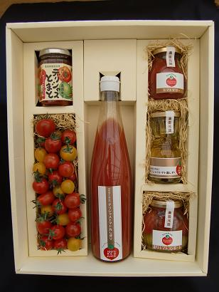 お中元ギフト 手づくりトマトセット ブログ用