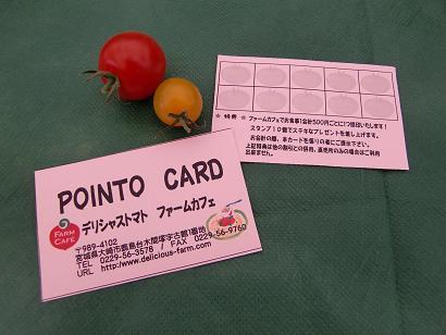カフェ新ポイントカード