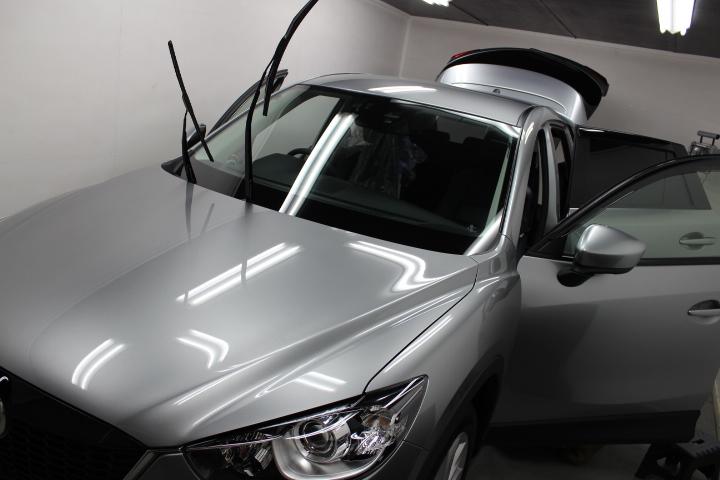 新車のガラスコーティング