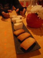 チーズと焼き菓子