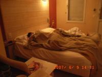 MとSちゃんのベッド
