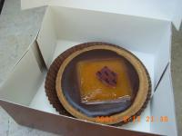 チョコとオレンジのタルト?