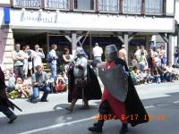中世の騎士?