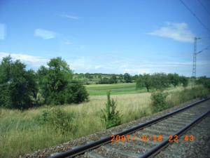 ミュンヘンへ続く線路