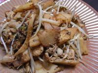 筍と豚肉の炒めもの