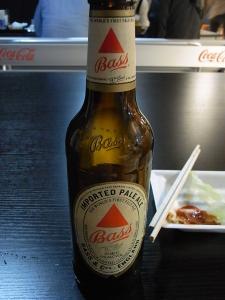 久しぶりのビール!