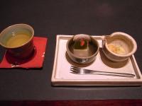 お茶とデザート