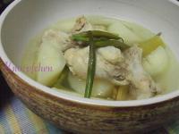 大根と鶏の塩煮