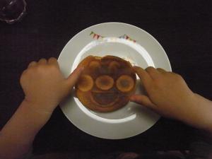 アンパンマンパンケーキ