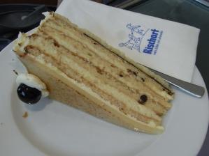 ナッツのケーキ