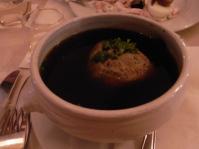 レバー団子スープ