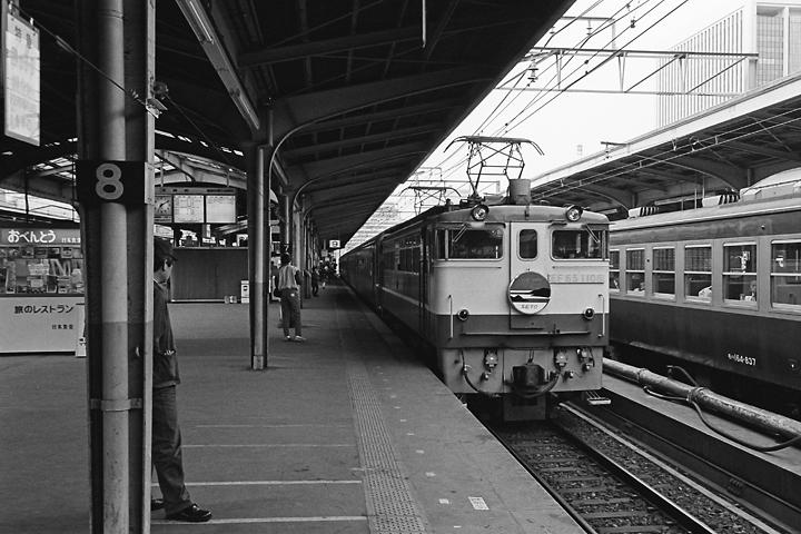 600403東京駅_寝台特急瀬戸