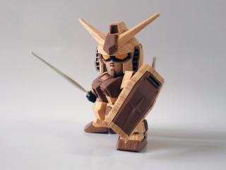 木製ガンダム
