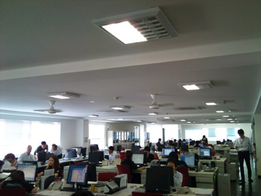 ligting in office02