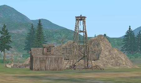 鉱山(遠い)