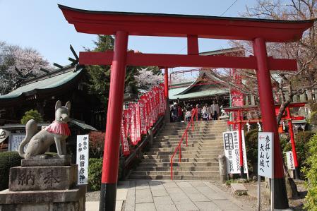 犬山城 三光稲荷神社