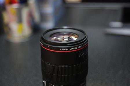 EF100 F2.8L レンズ先端