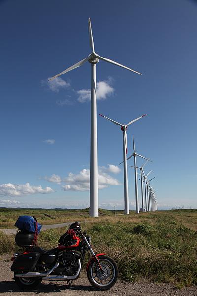 オロロンライン オトンルイ風力発電所