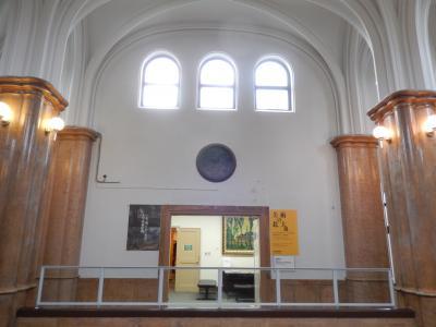 「美術の北大」会場入口