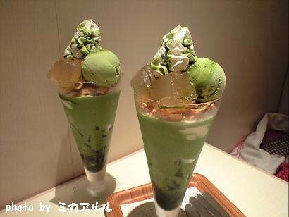 10.07.08抹茶あらび餅ジェラートパフェCA391141