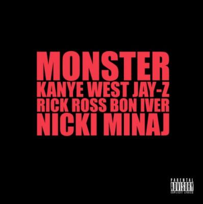 Kanye West  Jay-Z Ft Nicki Minaj, Rick Ross  Bon Iver #8211; Monster
