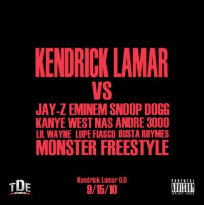 Kendrick Lamar #8211; Monster (Remix)