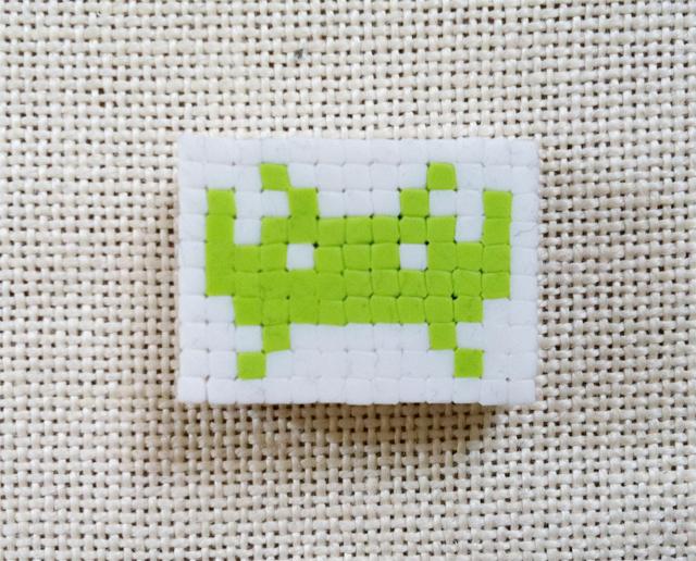 オリケシインベーダー緑