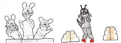 アップルパイ・蟻とネズミ