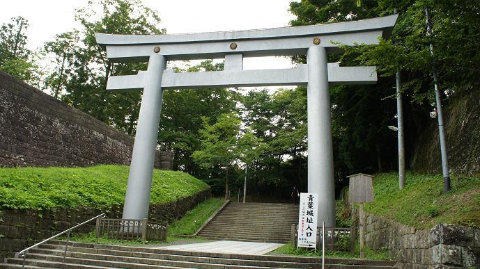 青葉城入り口