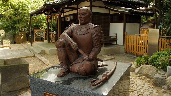 安居神社の幸村公
