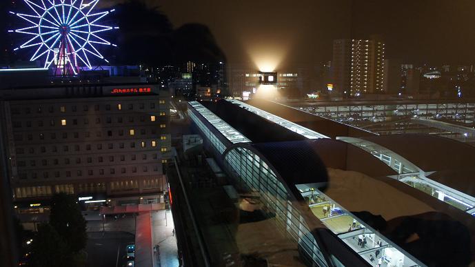 鹿児島中央駅夜景