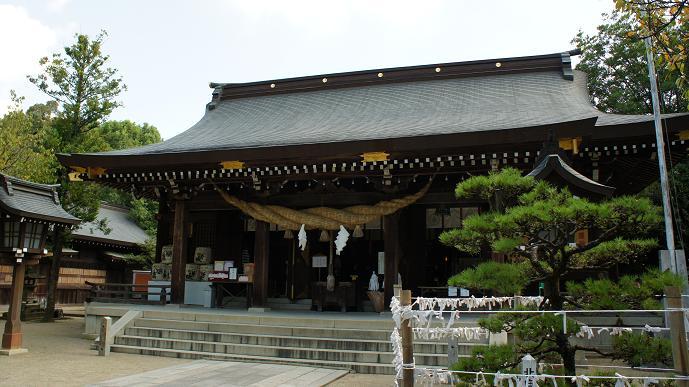 菊池神社本殿
