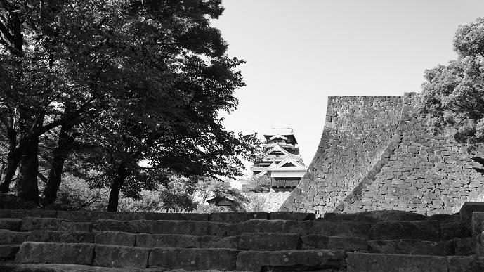 観光写真的な白黒