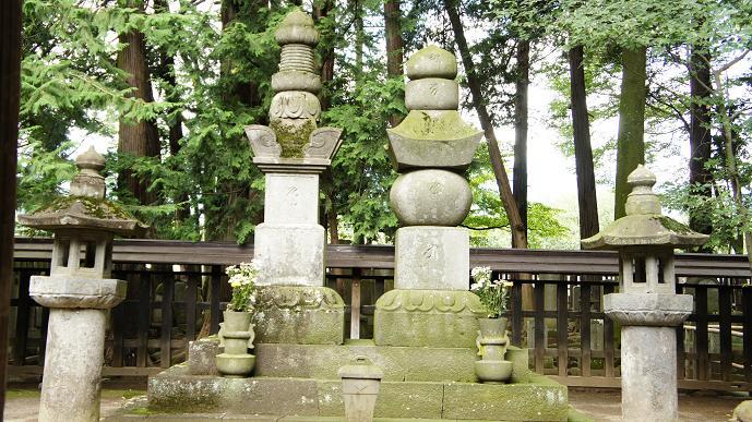 信玄公の墓3