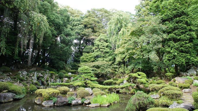 恵林寺の庭
