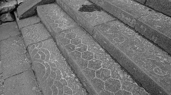 二月堂の石段