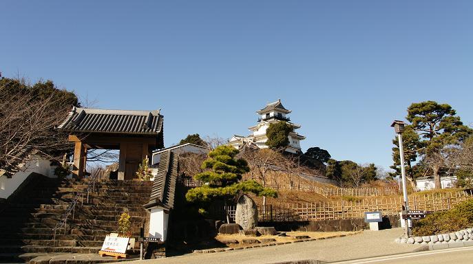 掛川城全景