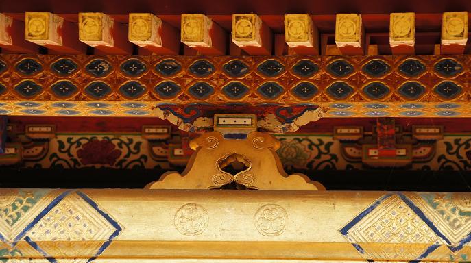 霊屋の装飾
