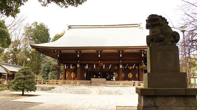 氷川神社・本殿